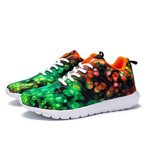Idea Frames Frauen Männer Mode Laufschuhe Leichte Turnschuhe Lässig Paar Schuhe Orange