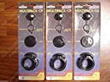 3 X MULTIPACK KITS Screw cap Stopper Vent cap fits WEDCO BRIGGS STRATTON GAS CAN
