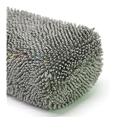 Wheel Brush Car Rim Wand Microfiber Cleaning Automotive Tire Metal Free Heavy Duty: Automotive