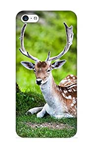 KdEwjj-107-RTMBh Storydnrmue Awesome Case Cover Compatible With Iphone 5c - Animal Deer