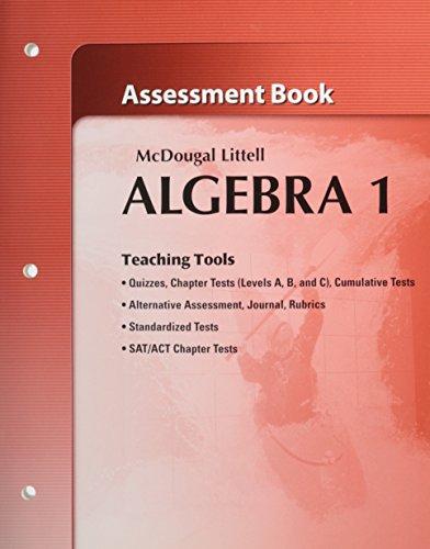Algebra 1 Book Answers: Amazon.com