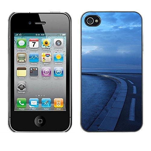 Premio Sottile Slim Cassa Custodia Case Cover Shell // F00002995 de plein air // Apple iPhone 4 4S 4G