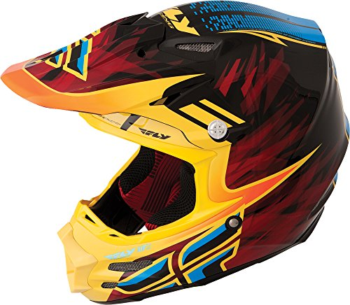 Fly Racing 73-4082L F2 Carbon Andrew Short Helmet