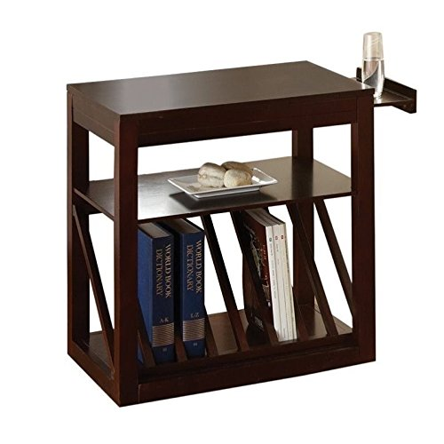 Steve Silver Jameson Chairside End Table (Cherry)