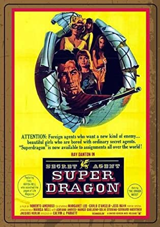 Amazon.com: Secret Agent, Super Dragon: Sinister Cinema ...