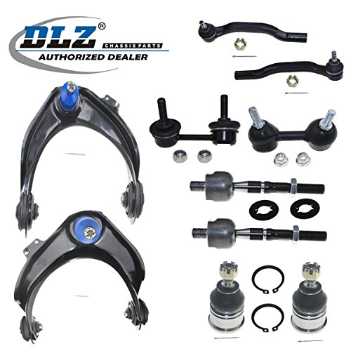 - DLZ 10 Pcs Front Suspension Kit-Upper Control Arm Lower Ball Joint Inner Outer Tie Rod End Sway Bars Compatible with 1998 1999 2000 2001 2002 Honda Accord 3.0L 6Cyl V (2997)(-) K9643 K90340 ES3491