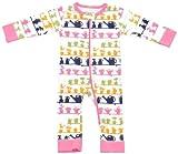 Sweet Peanut Baby Girls' Greenhouse Romper - Pink