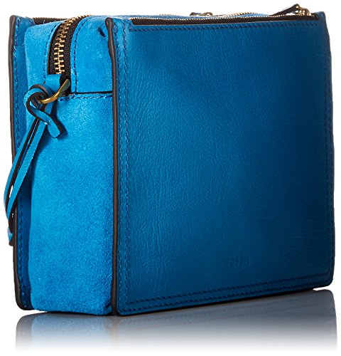 Fossil Bag Crossbody Fossil Campbell Cerulean Campbell Cerulean Bag Crossbody 00PArnHq