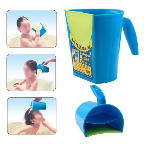 Shampoo Rinser, Eworld66 Baby Child Wash Hair Eye Shield Baby Shampoo Rinse Cup