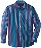 Isaac Michael Big Boys' Ethan Shirt, Green/Purple, 18-20
