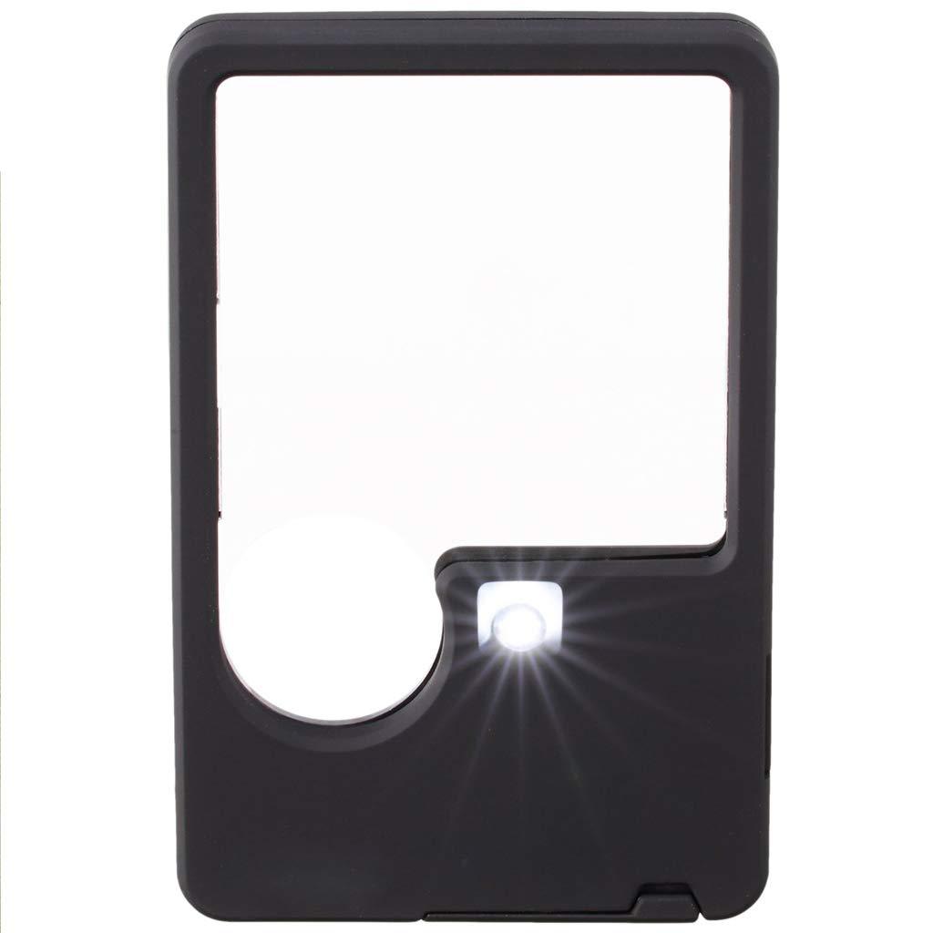 Ahorre hasta un 70% de descuento. SXY888 2X Portátil Portátil Portátil Portátil Plegable Lector de luz LED Lupa Ancianos Visión Baja Lectura de Degeneración Macular  punto de venta de la marca