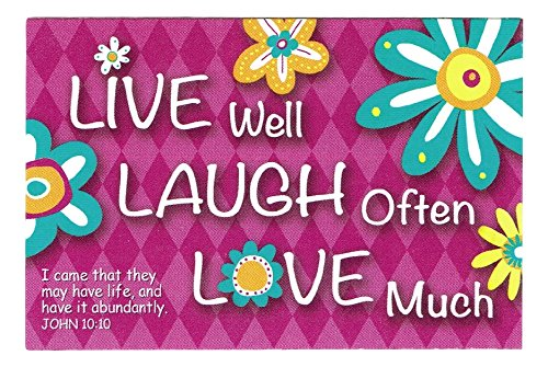 (Universal Designs Uplifting Christian Inspirational Pass It on Message Cards - Pack of 25 (Live Laugh Love))