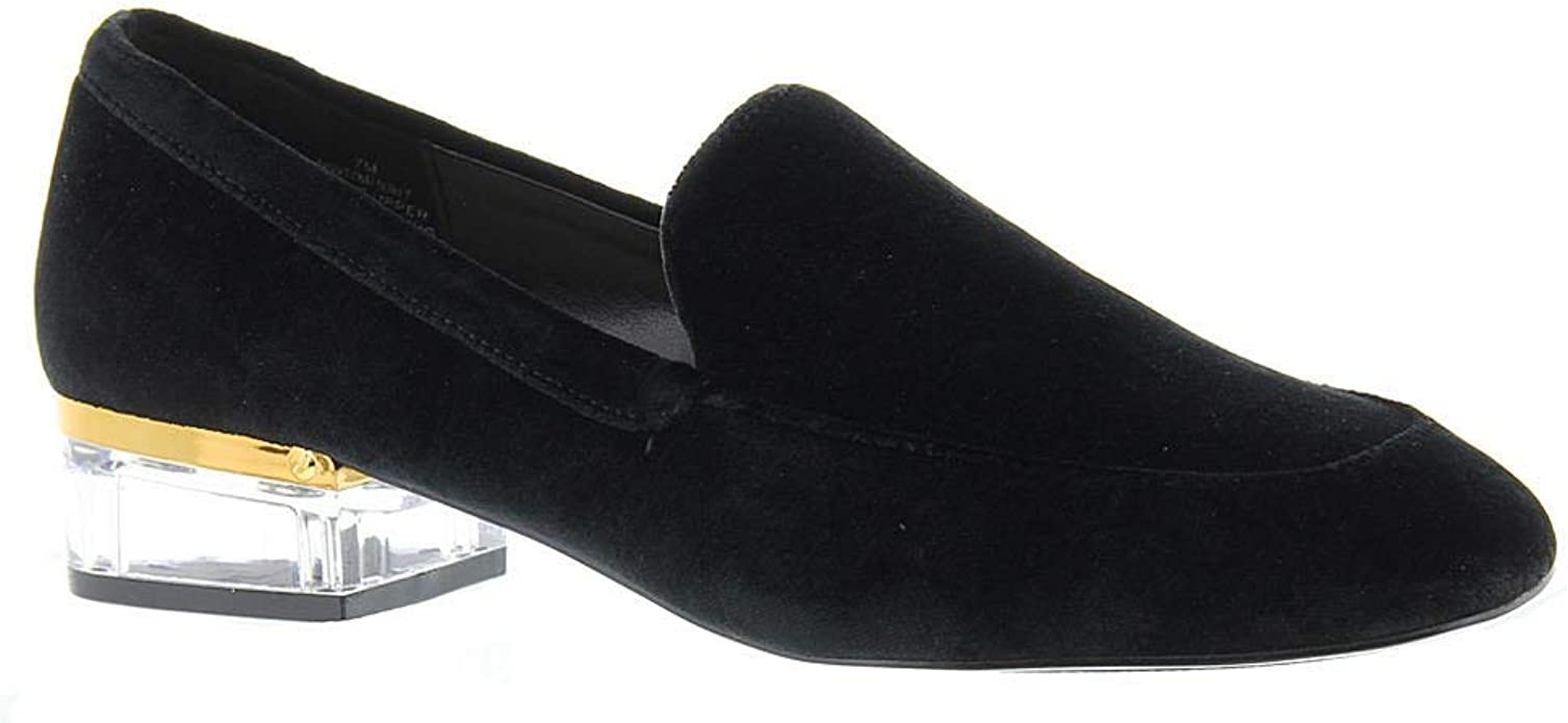 Nine West Womens Umissit Fabric Closed Toe Loafers