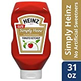 Simply Heinz Tomato Ketchup, 31 Ounce
