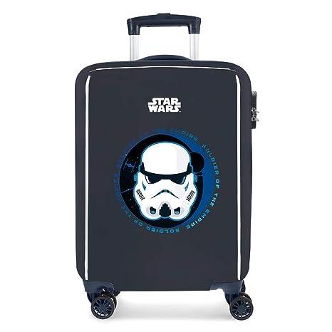 Star Wars Troopers Equipaje Infantil, 55 cm, 34 litros, Azul