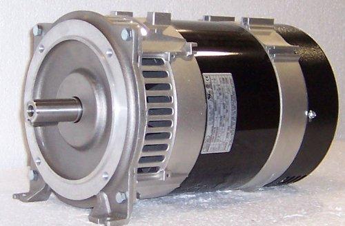 (Belt Driven MeccAlte 10200/12000 Watt Generator Head With Outlets #S20W-130BD)