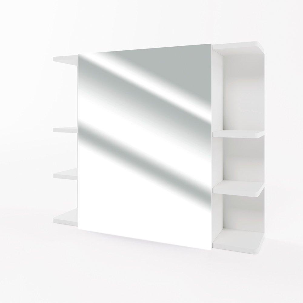 VICCO Spiegelschrank FYNN 80 Cm   Badezimmer Spiegel Hängespiegel  Badspiegel Badezimmerspiegel (Weiß)