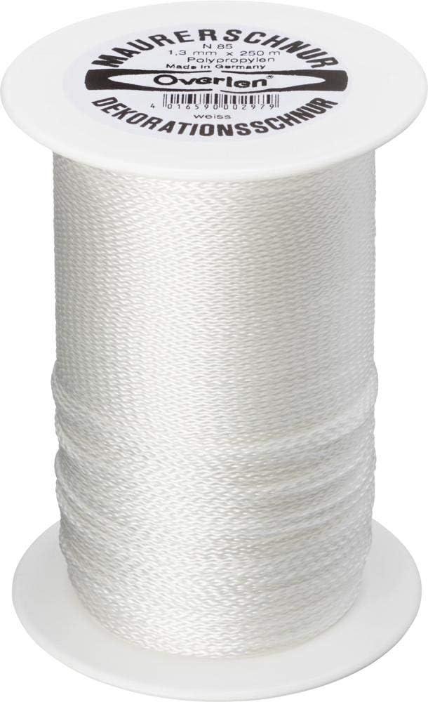 /Maurer-Kabel 1.3/mm PP 250/m wei/ß Overmann/
