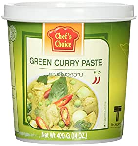 Chef's Choice Green Curry Paste - 14 ounces per jar