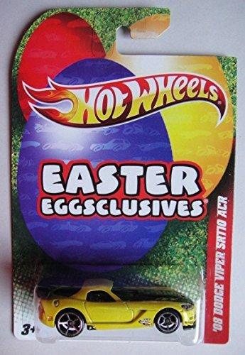 (HOT WHEELS EASTER EGGSCLUSIVES YELLOW '08 DODGE VIPER SRT10 ACR)