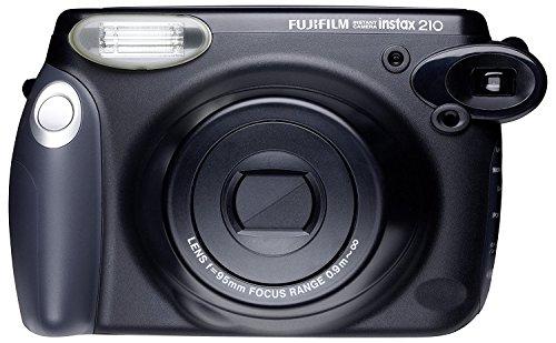 Cámara Instantánea Fujifilm INSTAX210 Analógica, Color Negro
