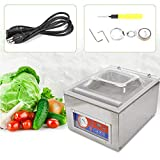 Vacuum Sealers,Digital Vacuum Packing Sealing Machine Sealer, 120W Chamber Commercial Automatic Packing Machine 110V