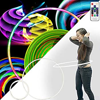 Image of Echo SuperGlow Professional Glow Hula Hoop - 153 LED's RF Remote Control 85cm, The Perfect Performance Choice! Fitness Equipment