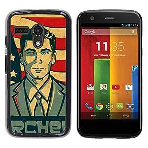 // PHONE CASE GIFT // Duro Estuche protector PC Cáscara Plástico Carcasa Funda Hard Protective Case for Motorola Moto G 1 1ST Gen / Archor /