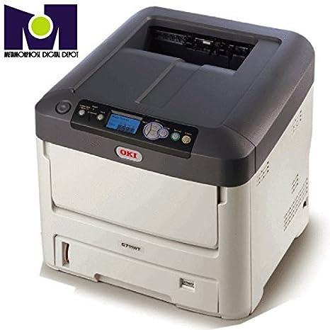 Alta velocidad OKI 711 WT LED impresora de transferencia ...