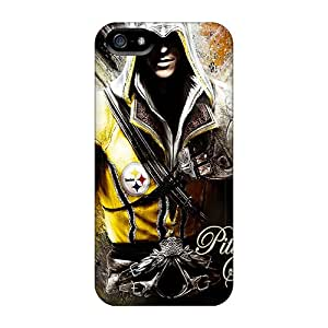Fashionable UGkAm3807whbBJ Iphone 5/5s Case Cover For Pittsburgh Steelers Protective Case