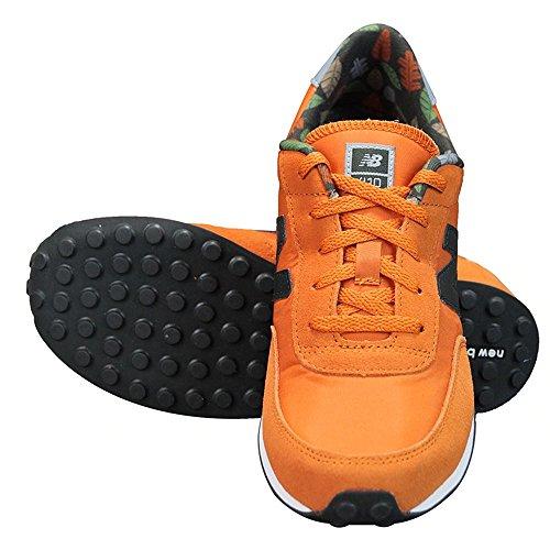 New Balance - KL410Z2Y - KL410Z2Y - Color: Gris-Naranja-Negro - Size: 40.0