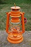 Feuerhand Galvanized Lantern - Pastel Orange