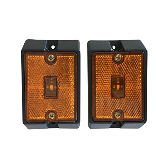 MaxxHaul 80745 Side Marker LED Amber Light-2 Pack