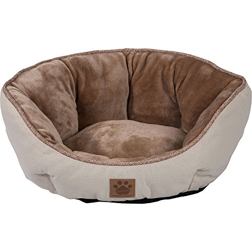 Precision Pet SnooZZy Rustic Elegance Clamshell Bed