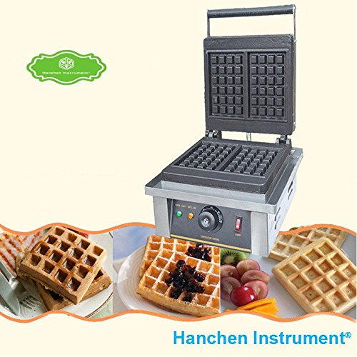 FY-4 Commercial Electric Non-stick 2pces Square Waffle Maker Making Machine Toaster Baker (110V)