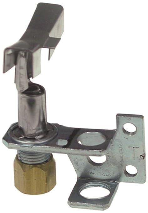 ROBERTSHAW 6CH14-1 - Quemador de encendido para freidora Falcon G1830, 3 focos, orificio de gas natural de 0,26 mm de diámetro, para tubo de 1/4 pulgadas, CCT, número ...