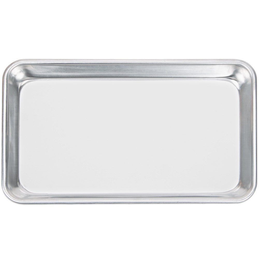 Happypinto Aluminum Mini Sheet Pans/Bun Pans, 1/8, One Eighth size 6''x10'' (12 pack) by Happypinto (Image #1)