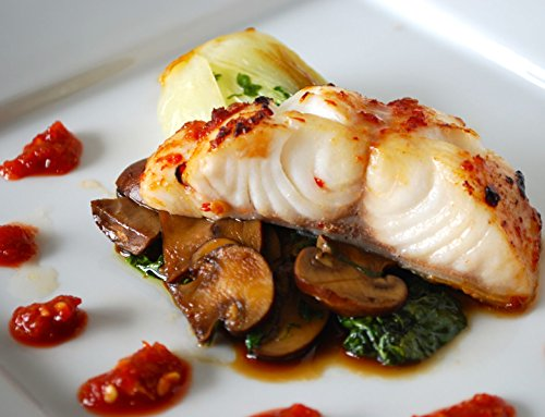 Premium Black Cod Fillets 5 Lbs - Vacuum Packed & Frozen Fresh - Discounted Overnight Shipping Monday-Thursday