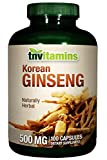 Korean Ginseng 500 Mg – 100 Capsules Review