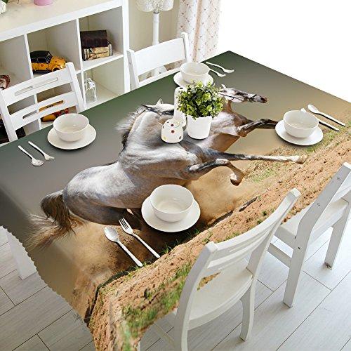 BlauLSS Anpassbare 3D-Tischdecke Weihnachten 5 Zebras Muster komfortable Tuch Verdicken rechteckige und runde Tischdecke für Hochzeit, G, 80 x 150 cm. B07CMSSK67 Tischdecken Elegante und robuste Verpackung     | Wirtschaftlich und praktisch
