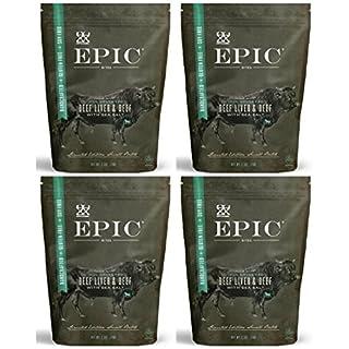 Epic - Beef Liver Bites - 2.5 oz each (4 Pack)