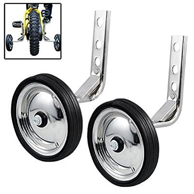 WINOMO Universal Heavy Duty Training Wheels for 12/14/16/18/20inch Bike Kids Bicycle Children