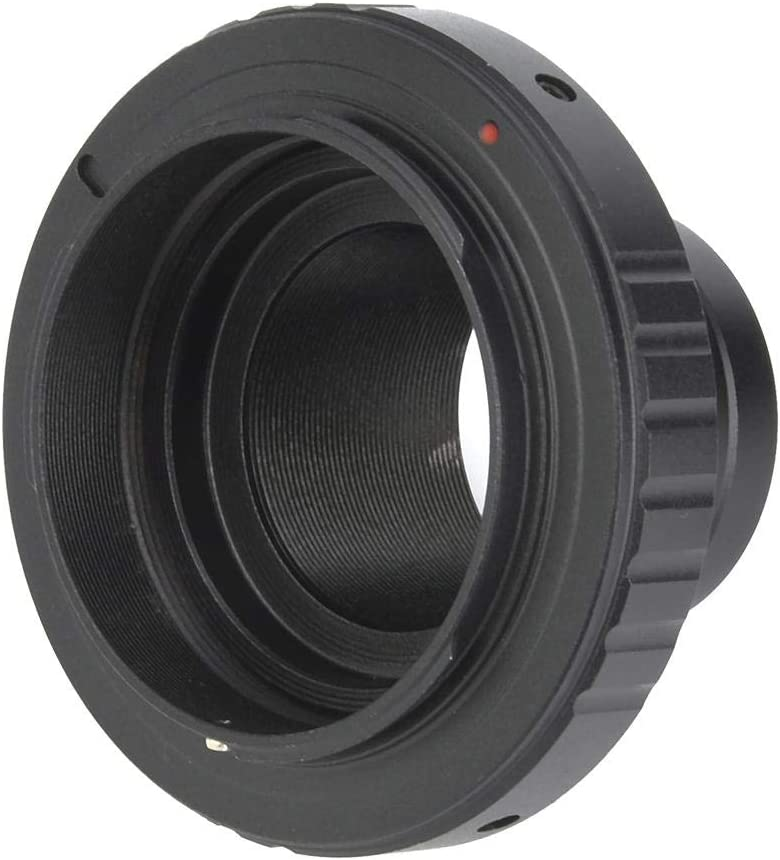 Telescope Holder 1.25inch Aluminum Alloy Adapter Ring for Camera Thread M42 0.75mm Lens Adapter Lens Extension Tubes