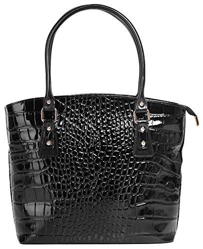 Borsa Da Donna In Pelle Liscia Cluty Handbag