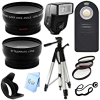 Ultimate Accessory Bundle 67mm for Nikon D800e D3000 D3100 D3200 DSLR Cameras