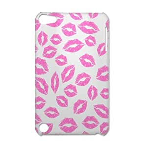New Arrival Custom Lip Pattern Design 3D Printed Carrying Case for iPod Touch 5 Casehome-01882
