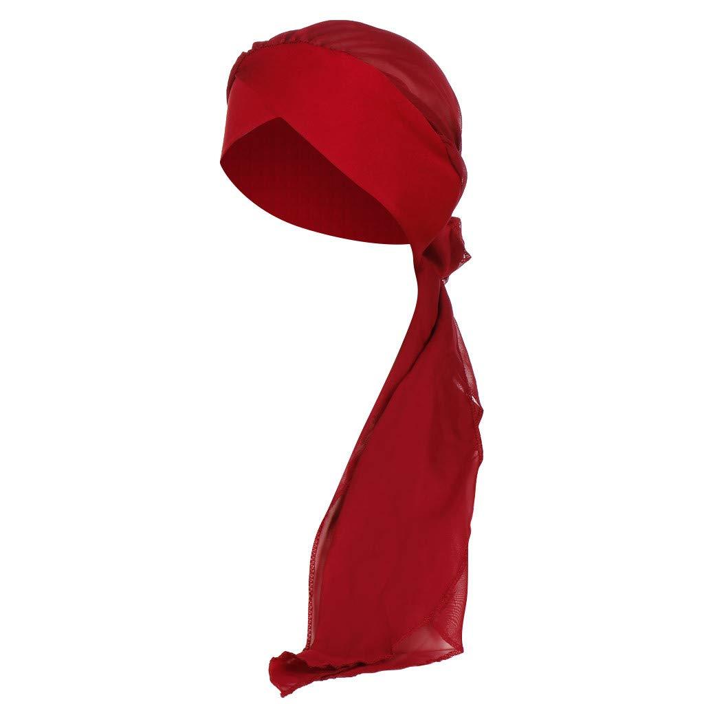 FRAUIT Turbante Chemioterapia Estivo Berretto Donna Chemio Turban Headband Bandana Ragazza Vintage Sciarpa Estiva Copricapo Araba Hijab Donna Musulmano Headwear Cappello Cappellino