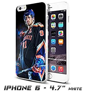Hockey NHL John Tavares ,New York Islanders, , Cool iPhone 6 Plus (6+ , 5.5 Inch) Smartphone Case Cover Collector iphone TPU Rubber Case White [By PhoneAholic] by ruishername