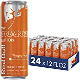 Red Bull Tangerine Energy Drink, Orange Edition, 12 Fl Oz (Pack of 24)