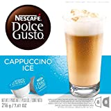NESCAFE Dolce Gusto, Iced Cappuccino, Makes 24 Cups, 8 Espresso and 8 Milk (3 Boxes of 16 Capsules)